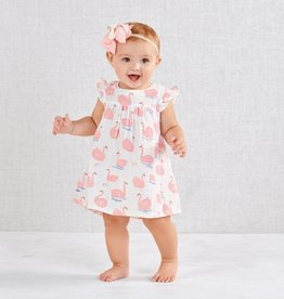 Mud Pie Muslin Swan Dress