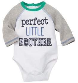 Mud Pie Little Brother Onesie (Mud Pie), 0/3M