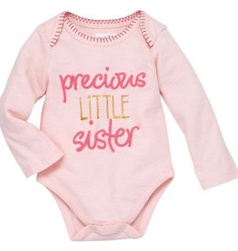 Mud Pie Little Sister Onesie (Mud Pie), 0/3M