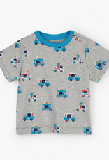 Hatley Grey Melange Ice Cream Trucks Tee