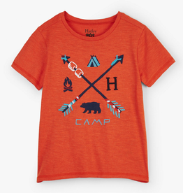 Hatley Retro Camp Graphic Tee Firestarter Melange