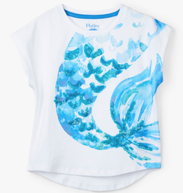 Hatley Mermaid Tales Graphic Tee White