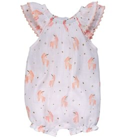 Mud Pie Muslin Unicorn Bubble
