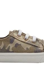 Oomphies Dynamo Elastic Lace Shoe Tan Camo