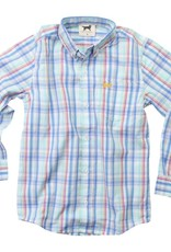 Jack Thomas by Wes and Willy LS Button Down Shirt NC Blue