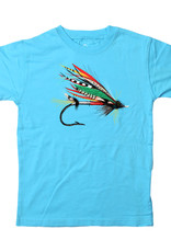 Wes And Willy Fishing Lure SS Tee VU Blue