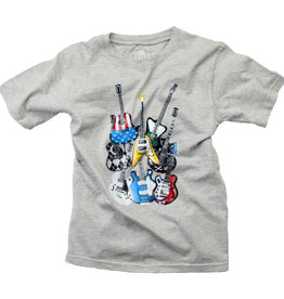 Wes And Willy Guitars SS Tee Heather