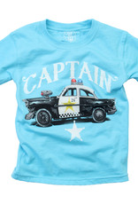 Wes And Willy Police Captain SS Tee VU Blue Blend