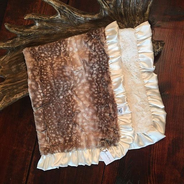 Rockin Royalty Fawn Blanket (Full Size)