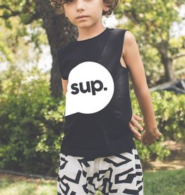 Joah Love Muscle Sup Tank Black
