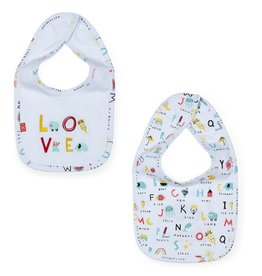 Magnificent Baby ABC Love Magnetic Reversible Bib