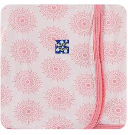 Kickee Pants Print Swaddling Blanket Macaroon Mandala