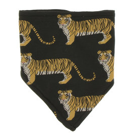 Kickee Pants Print Bandana Bib Zebra Tiger