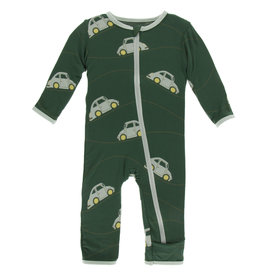 Kickee Pants Coverall Zipper Italian Car