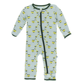 Kickee Pants Coverall Zipper Spring Sky Scooter