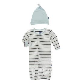 Kickee Pants Converter & Hat Tuscan Stripe