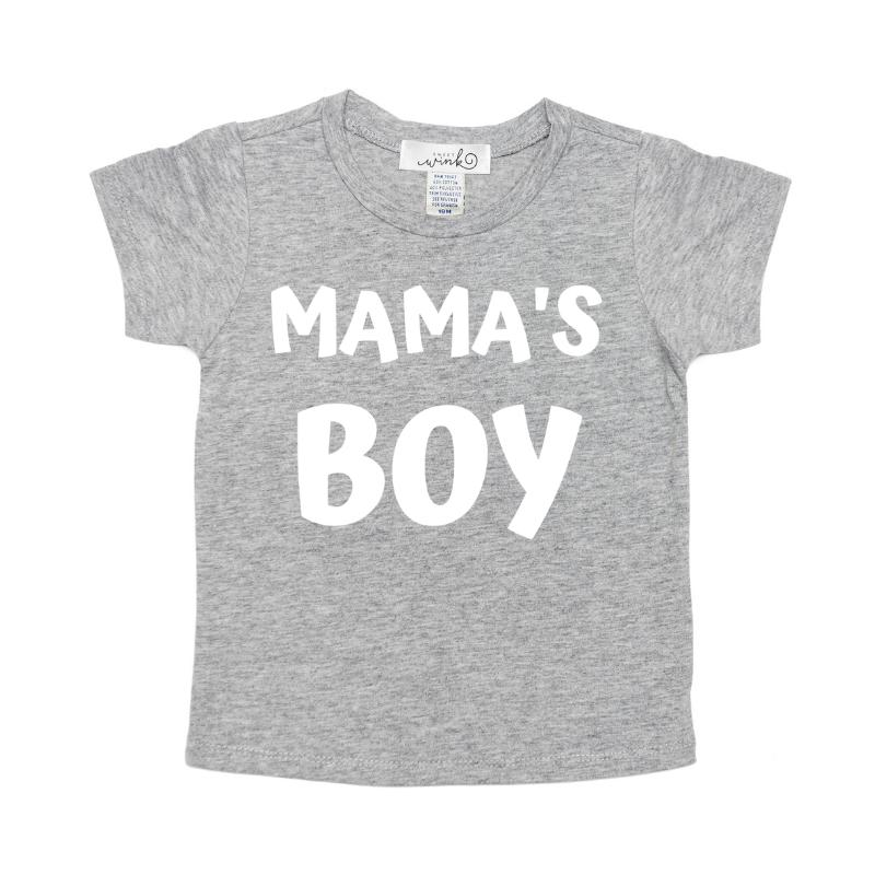 Sweet Wink Mama's Boy Shirt