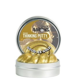 "Crazy Aaron's Putty World Good as Gold Precious Metals 3"" Putty Tin"