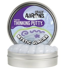 "Crazy Aaron's Putty World Mystic Glacier Phantom 4"" Putty Tin + Glow Changer"