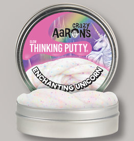 "Crazy Aaron's Putty World Enchanting Unicorn 4"" Putty Tin"