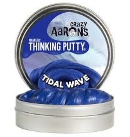 "Crazy Aaron's Putty World Tidal Wave Super Magnetic 4"" Putty Tin"