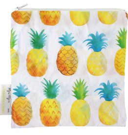 Itzy Ritzy Snack Bag Painterly Pineapple