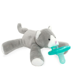 WubbaNub Boxed Grey Kitten Paci
