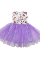 Mila & Rose Unicorn Dream Lavender Tank Tutu Dress