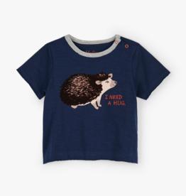 Hatley Huggable Hedgehog Baby Tee