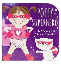 Cottage Door Press Potty Superhero Girl Book