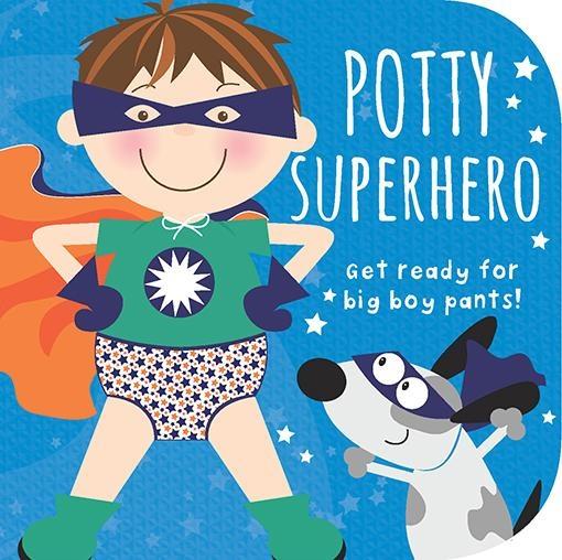 Cottage Door Press Potty Superhero Boy Book