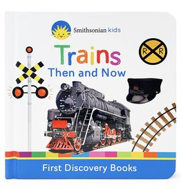 Cottage Door Press Trains Then and Now Book