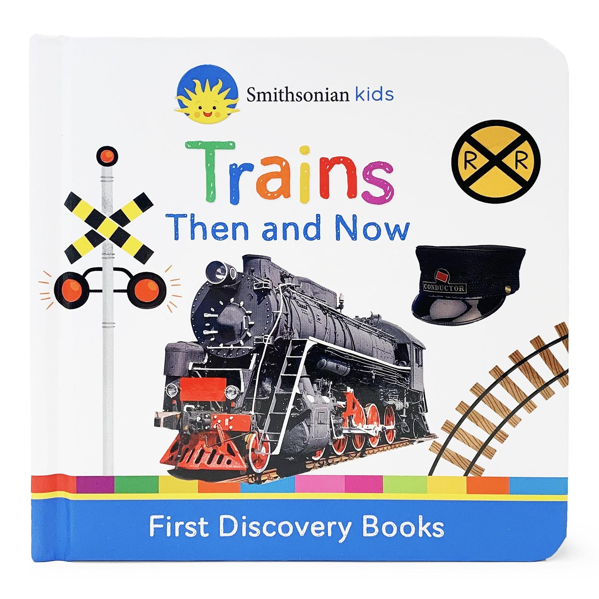 Cottage Door Press Trains Book