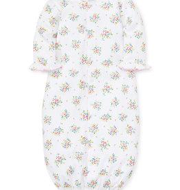 Kissy Kissy Petite Pansies Print Converter Gown