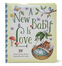 Cottage Door Press A New Baby is Love Book