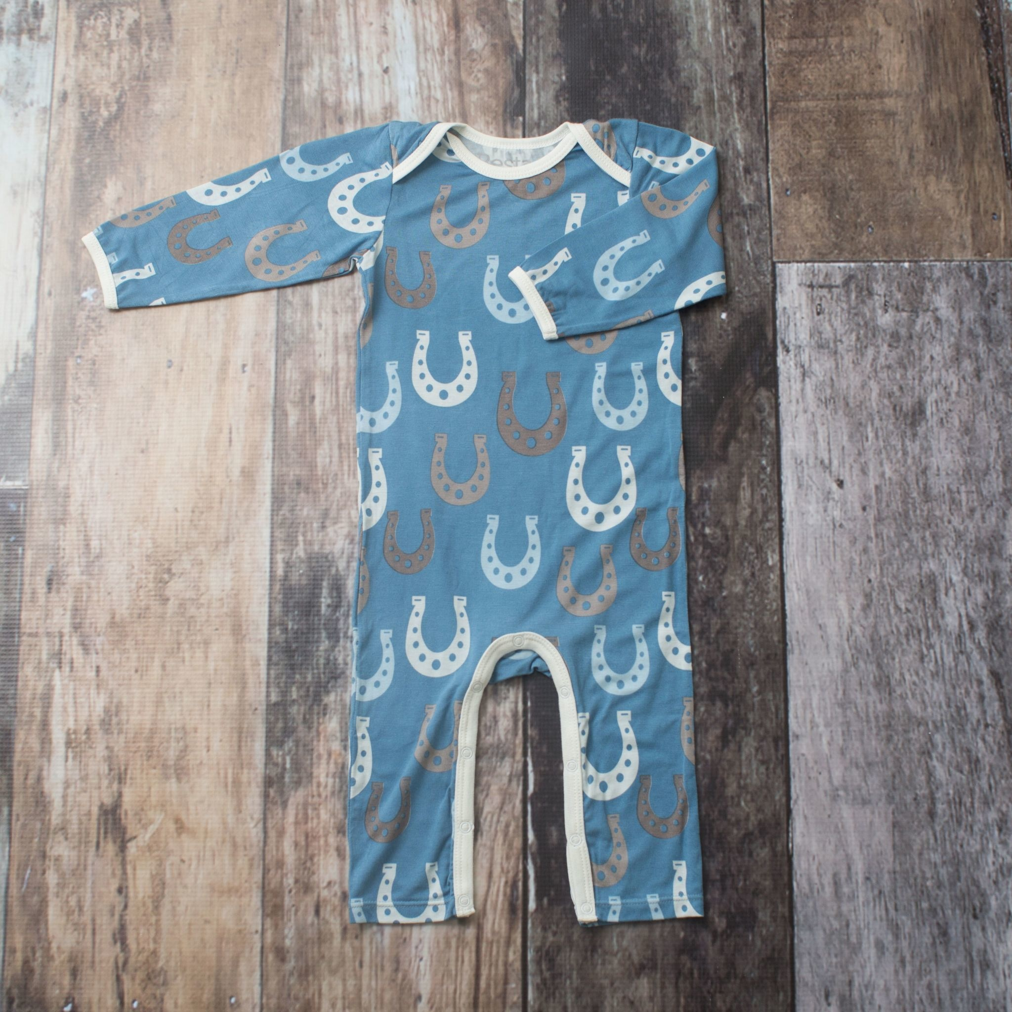 Bestaroo Coverall Horseshoes on Blue