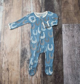 Bestaroo Footie Horseshoes on Blue