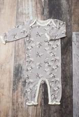 Bestaroo Coverall Gray Lillies