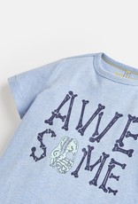 Joules Castaway Glow in the Dark Tee Blue Awesome