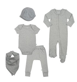 Finn + Emma Basics Heather Bundle