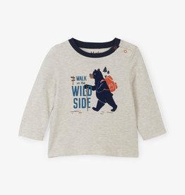 Hatley Wild Walk LS Baby Tee