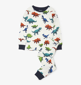 Hatley Dino Herd Organic Cotton Pajama Set