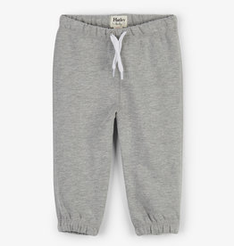 Hatley Grey French Terry Baby Joggers