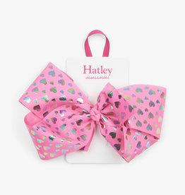 Hatley Hologram Hearts Bow Hair Clip