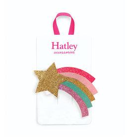 Hatley Shooting Stars Large Hair Clip