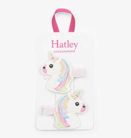 Hatley Glitzy Unicorns Glitter Hair Clips