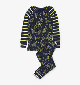 Hatley Wild Constellations Raglan PJ Set