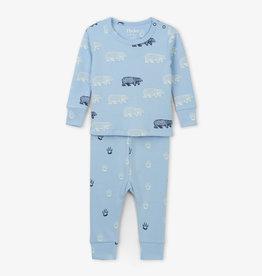 Hatley Band Of Bears Baby Pajama Set