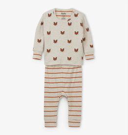 Hatley Clever Fox Baby Pajama Set