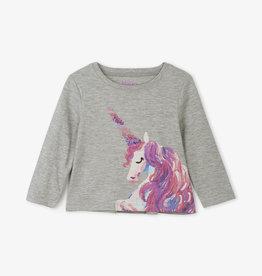 Hatley Enchanted Unicorn LS Baby Tee